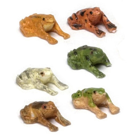 Frogs, Set of Six