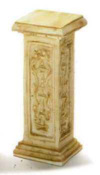 French Pedestal, Small, Tan