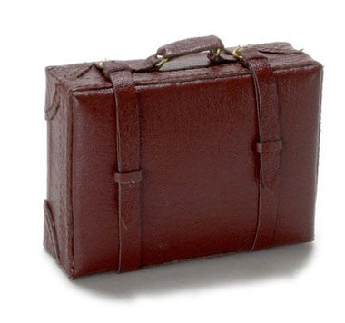 Luggage, Large Brown, Leather