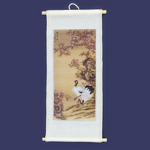Chinese Silk Picture of Two Birds