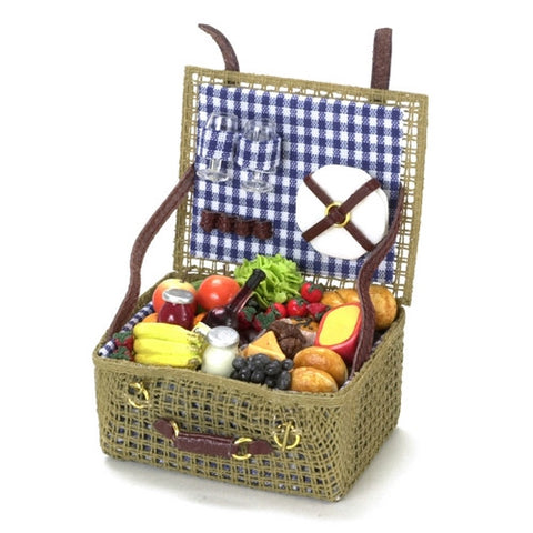Picnic Basket, Filled