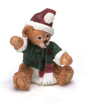 Christmas Bear, Resin