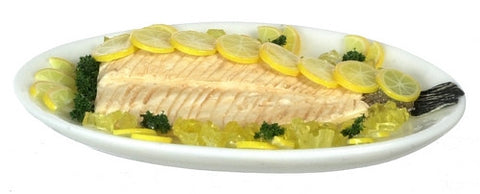 Salmon with Lemon Platter