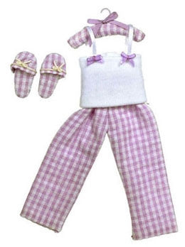 Girls Pajama Set with Slippers