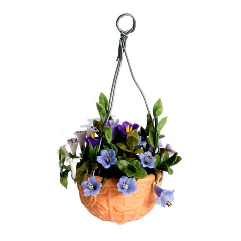 Hanging Basket, Mixed Petunias
