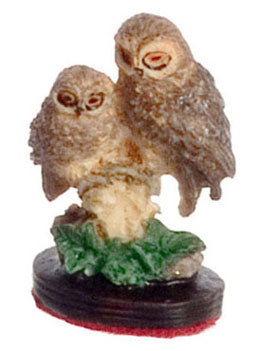 Pair of Owls Figurine