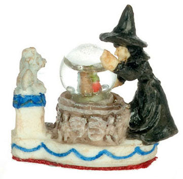 Water Globe with Witch