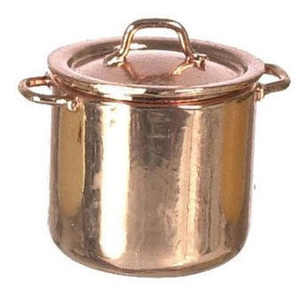 Copper Stock Pot, Large