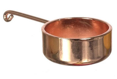 Copper Sauce Pan, Large