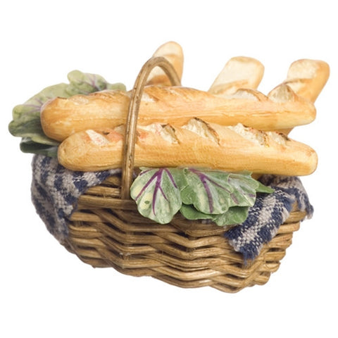 Basket with French Bread