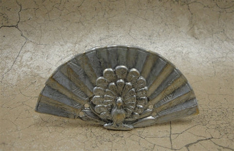 Empress Fireplace Fan, Silver Finish
