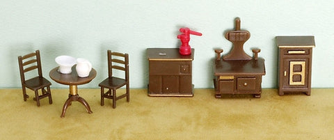 1/4 Scale Kitchen Set