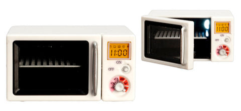 Microwave Oven with Light