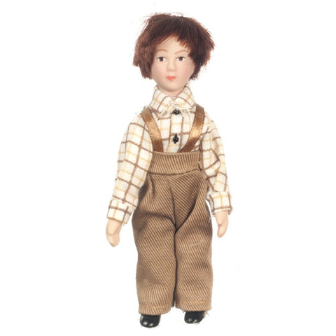 Victorian Brother Doll Figure