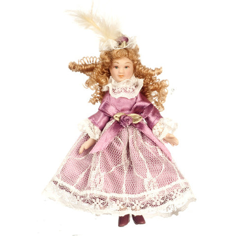 Victorian Sister Doll Figure