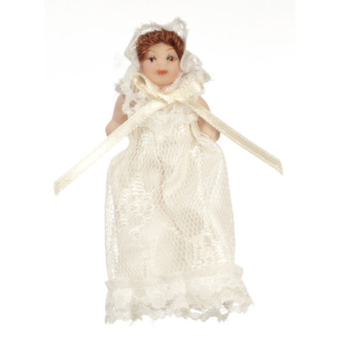 Victorian Baby Doll Figure