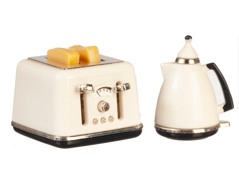 Toaster and Coffee Pot Set