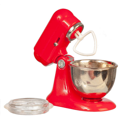 Mixer with Mixing Bowl, Red