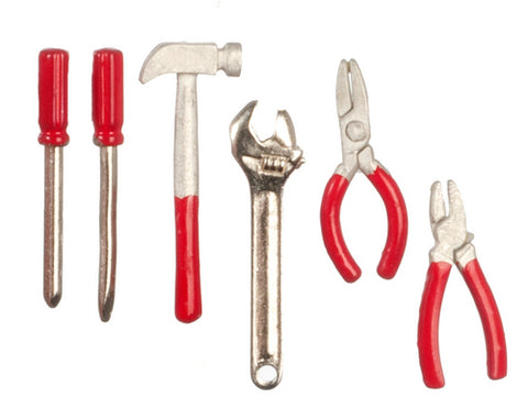 Tool Set, Chrome and Red