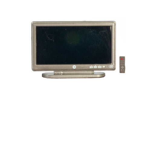 Big Screen TV with Remote