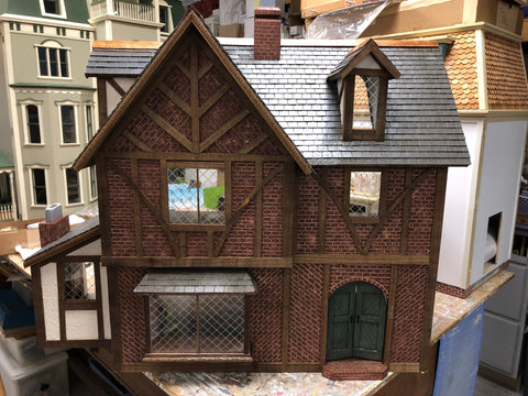 The Brent Eleigh Dollhouse by Gary Jay