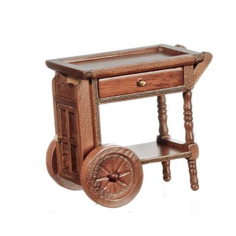 Tea Cart, Walnut Finish, On Special