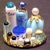 Small Perfume Tray, Blue