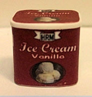 Vanilla Ice Cream Carton