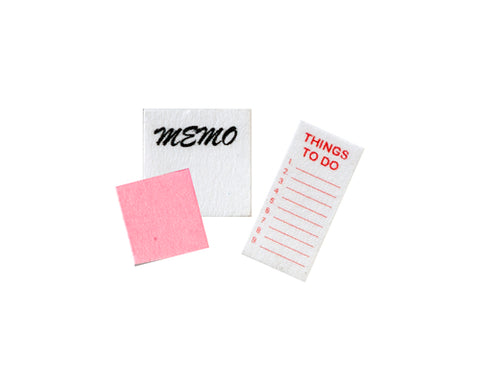 Note Pad, Set of Three