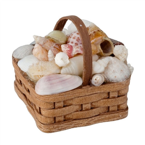 Basket of Seashells by Al Chandronnait