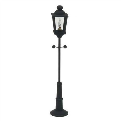 Black Yard Lamp, Electrified