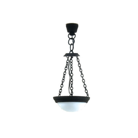 Black Americana Hanging Lamp