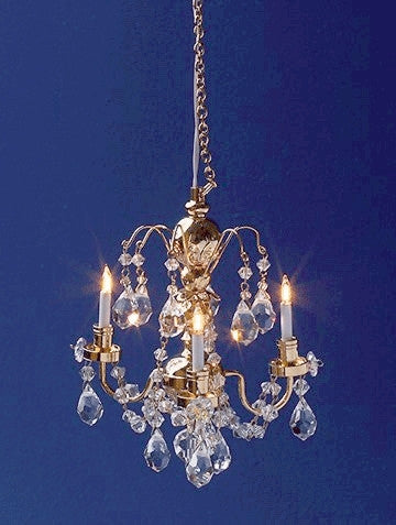 Chandelier 3 Up-arm Renaissance Crystal 20% OFF!
