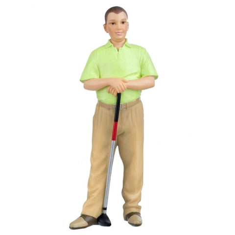 Resin Figure, Ted the Golfing Guy