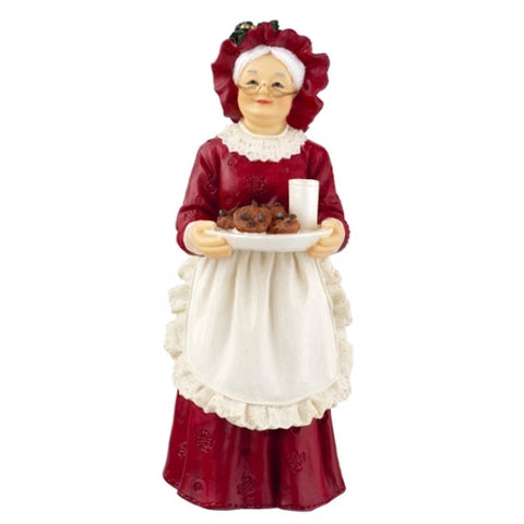 Resin Figure, Mrs. Claus