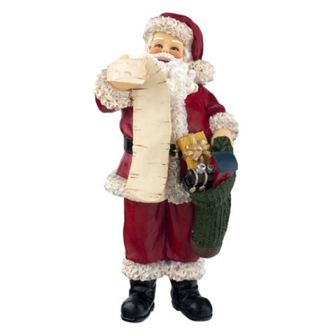 Resin Figure, Santa with List
