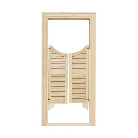 Saloon Style Swing Door