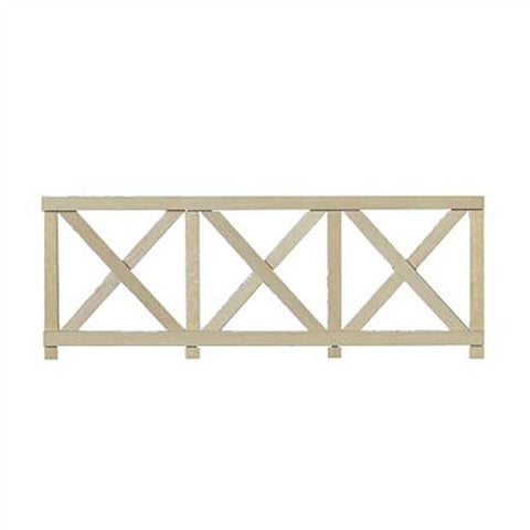 Crossbuck Fence, Six Piece Set