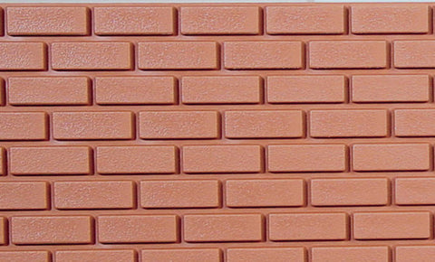 Brick Master Common Brick Sheet, Plastic