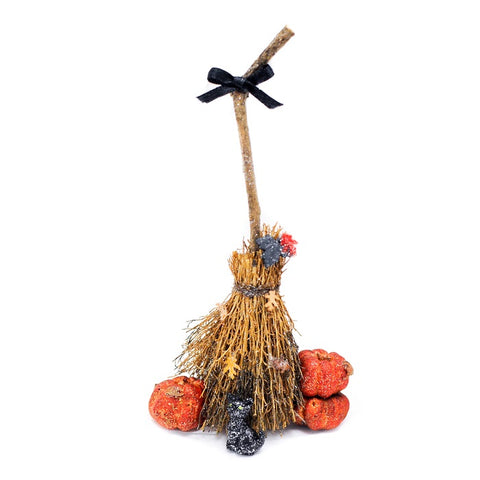 Fall Witches Broom Display