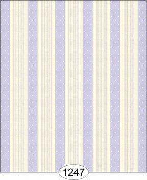 Bella Stripe Purple Ivory