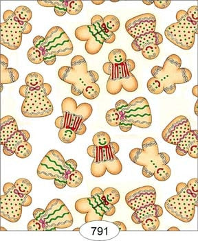 Gingerbread Men Wallpaper