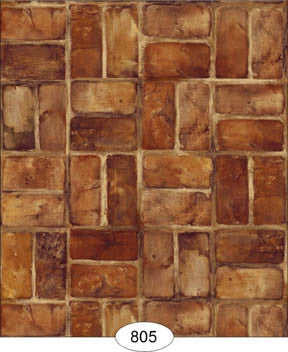 Set Brick, Reddish Brown