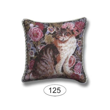 Pillow, Calico Cat with Pillows