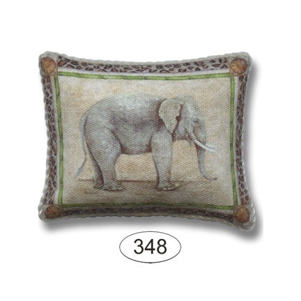 Pillow, Elephant with Trunk Down