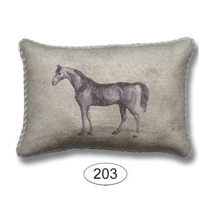 Pillow -Equestrian Horse