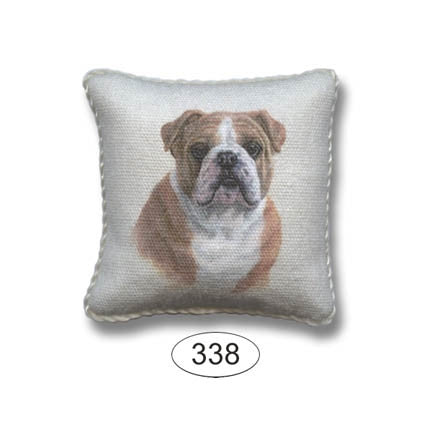 Pillow, Dog, English Bulldog