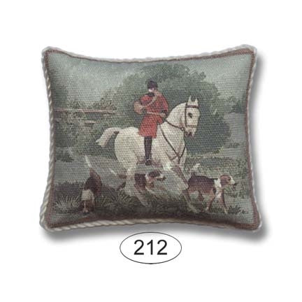 Pillow, Fox Hunt, Green