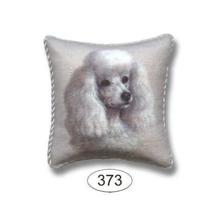 Pillow, Dog, Poodle