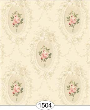 Camilla Floral Pink on Ivory